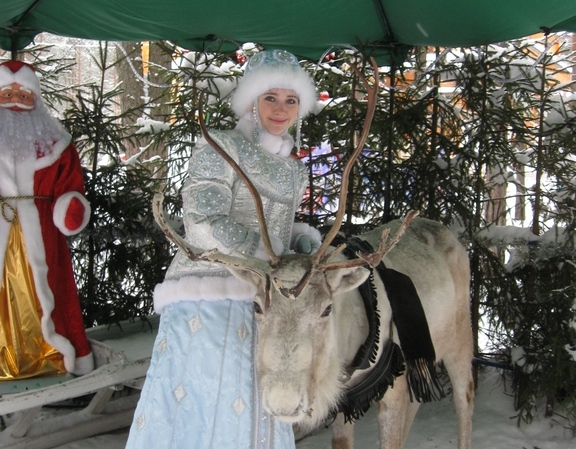 Резиденция Снегурочки в Костроме
