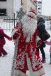 Дед Мороз на детскую площадку