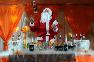 Бармен-шоу Деда Мороза