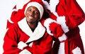 Дед Мороз и Снегурочка - афроамериканцы