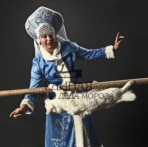 Дед Мороз и Снегурочка цирк