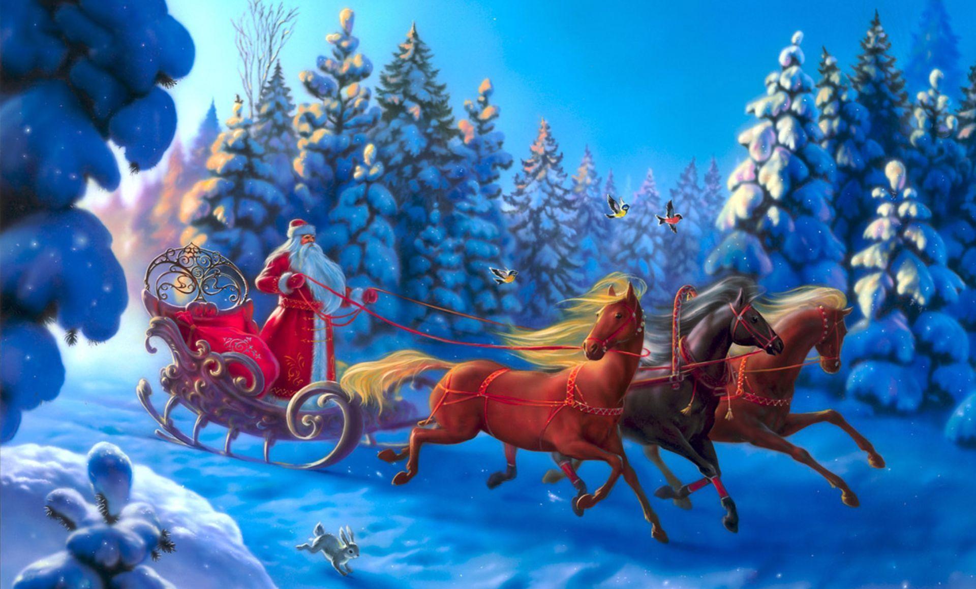 Помощники Деда Мороза или Кто помогает Деду Морозу