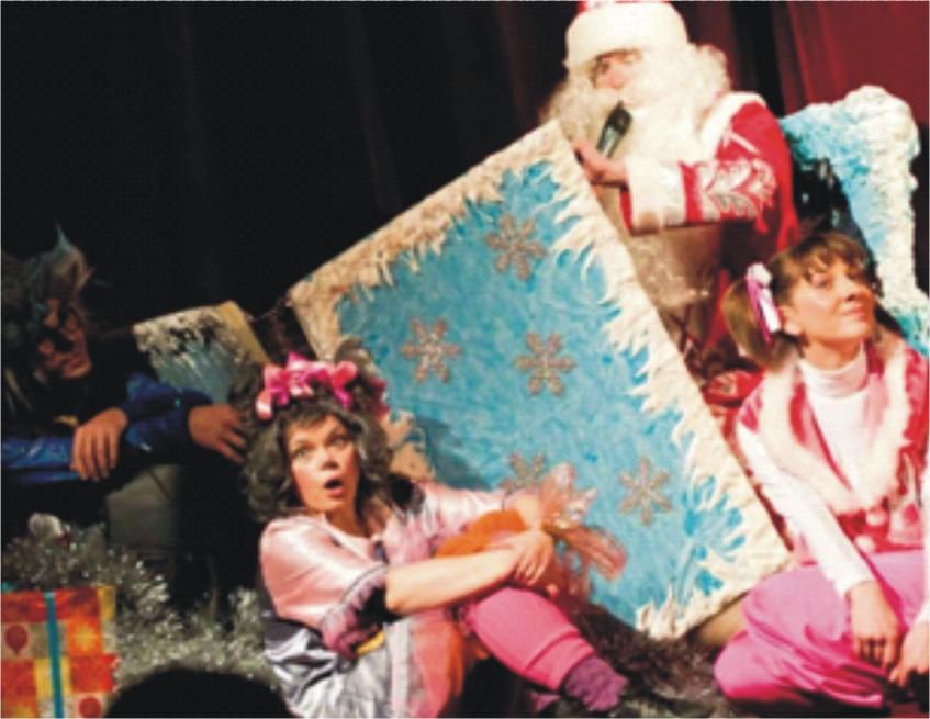 Дед Мороз и Снегурочка в сад, школу