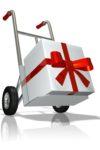 Организация новогодней доставки
