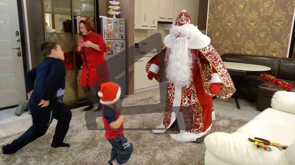 Дед Мороз в гости
